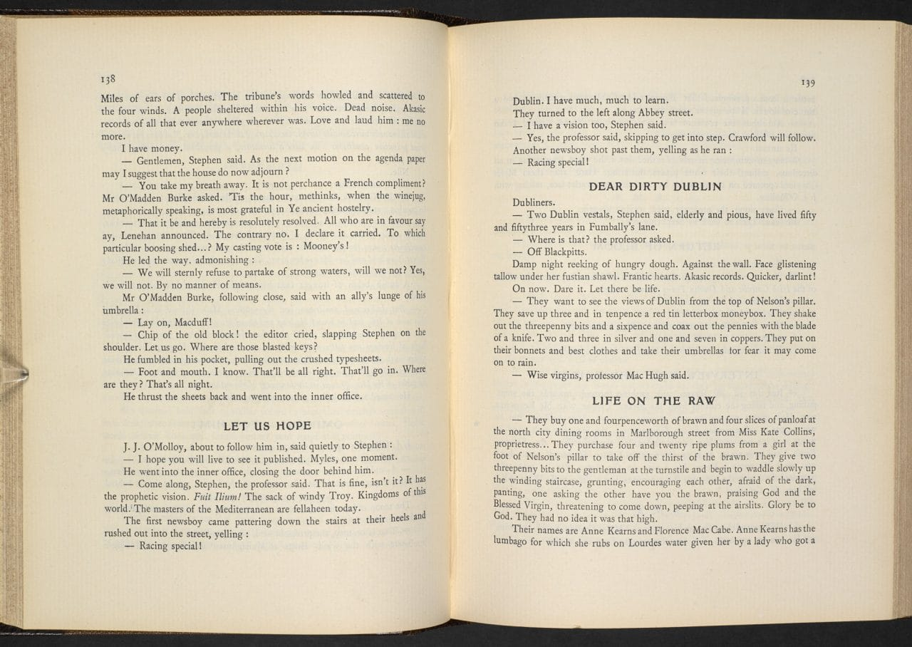 dubliners by james joyce undeniable circularity Like many admirers of the work of james joyce,  what to make of finnegans wake  one can learn a lot from all the stories in dubliners, .