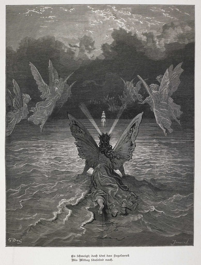 Samuel taylor coleridges the rime of the ancient marinerthe dors illustrated edition of coleridges the rime of the ancient mariner 1877 used extreme tones of dark and light to emphasise the dramatic aspects of biocorpaavc Images
