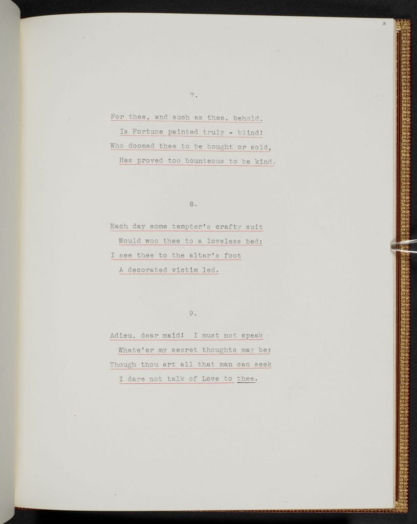 Lord Byron's 'Love and Gold' | The British Library